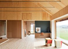 Leth & Gori uses clay and plywood for low-maintenance Brick House
