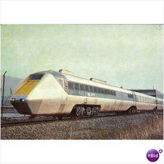 B.R. Advanced passenger train National Railway Museum Railway Postcard on eBid United Kingdom
