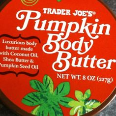 Trader Joe's wine is great, so is #Pumpkin Body Butter    You can find it at #TraderJoes for a limited time. Here are five beauty products you'll love at Trader Joe's.