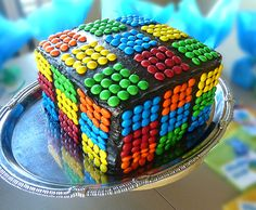We recently celebrated my son's 7th birthday with a colorful Rubik's Cube themed kid party.    He LOVED his cube cake! It was really easy to...