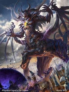 Legend of the cryptids — Gran demonio Legend of the cryptids