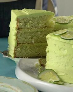 Summer Cakes, Summer Desserts, Fun Desserts, Best Dessert Recipes, Fall Recipes, Lime Cake Recipe, Key Lime Desserts, Margarita Cake, Cocktail Cake