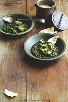 Palak Paneer - Spinach & Cheese Curry. Who knew the homemade version could be so fantastic?