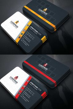 This is Business card_______________________________________________________________________File Best Visiting Card Designs, Visiting Card Templates, Professional Business Card Design, Elegant Business Cards, Corporate Identity, Identity Branding, Corporate Business, Corporate Design, Visual Identity