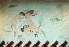 Domènech and Ramon Casa, Wall of La Fonda España restaurant (photo: hadas6, via Flickr)