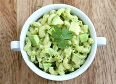 17 awesome things to do with avocados - green avocado mac & cheese? Yum!