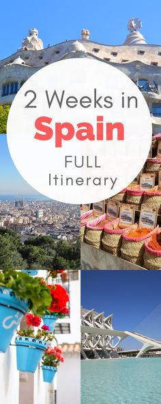 My EXACT 2 week Spain and Portugal itinerary! Also, with a side trip to Morocco! Filled with day by day Spain itinerary, and tons of tips and ideas!