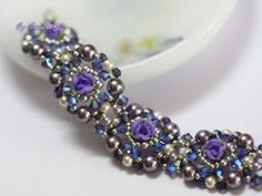 [Tutorial] Violet Rose - Bead Tutorial