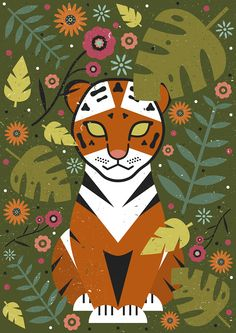Carly Watts Art & Illustration: Tiger Cub