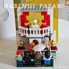 Pope Legos!