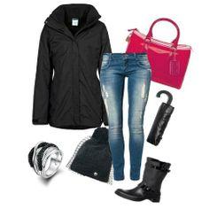 Sotto la pioggia ma con stile! #outfit #look #pioggia #moda #donna #tendenze www.lucabarra.it