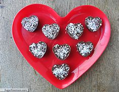 Homemade Valentine Coconut Filled Candy [Dairy, Nut, Sugar, & Gluten Free] I will be making these for Valentines Day:)