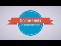 Online tools for busy entrepreneurs Skillshare course series Start watch...
