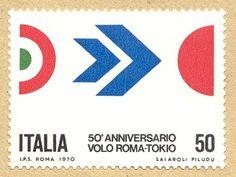 Italienska frimärke