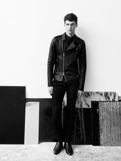 Matthew Bell becomes the striking new face of IRO shot for the label by prolific fashion photographer Andreas Larsson.