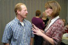 Walt Lytle and ED Nurse Janice Maybee