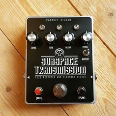 Repost @parasitstudio: Subspace Transmission fuzz - new DIY project avaliable at www.parasitstudio.se The Subspace Transmission is a fuzz with a recording feature - up to 20 seconds. The playback can be repeated and pitched up or down #parasitstudio #subspacetransmission #fuzzfriday #fuzz #diystompboxes #pedalbuilder #pedalgram #diyordie #stompboxes #guitarfx #effectpedals #ilovefuzz