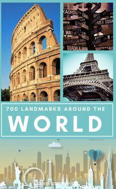 Famous Landmarks - 100 Famous Landmarks For Your Bucket List