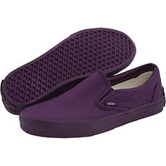 Vans Purple Slip Ons