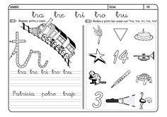 Para niños de 4 y 5 años Para saber como se coloca bien el lápiz entre los dedos para escribir os recomendamos el siguiente link Fichas de lectoescritura