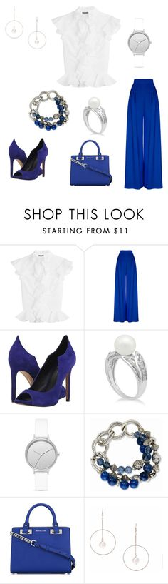 """Untitled #144"" by jaite0990 on Polyvore featuring Alexander McQueen, Dolce Vita, Skagen, MICHAEL Michael Kors and Lipsy"