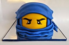 Cake Tutorials by Lacey-Jake's Cakes Bolo Ninjago, Bolo Lego, Lego Ninjago Cake, Ninjago Party, Lego Cake, Superhero Cake, Ninja Birthday Cake, Ninja Cake, Birthday Cakes