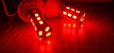 Lampu rem kedip socket BAY15D P21/5W 12V, khusus untuk motor dan mobil.