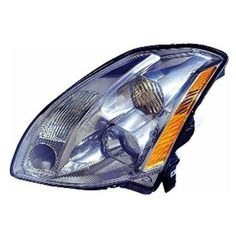 05-06 Nissan Maxima Headlight Assembly (Halogen Type, W/O Gray Trim) - Driver Side