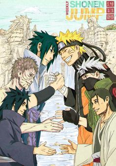 Naruto Weekly Shonen Jump