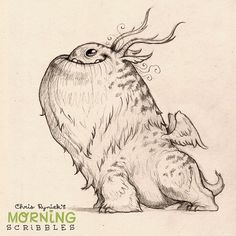 https://flic.kr/p/nBRfui | Ready for anything... #morningscribbles