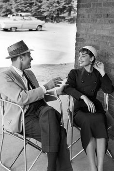 The 41 most stylish couples of ALL time: William Holden and Audrey Hepburn