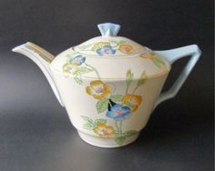 Crown Ducal Art Deco Teapot ROSEMARY