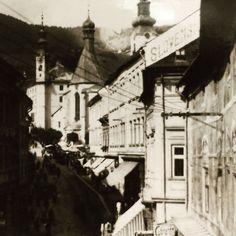 Fasada na dome kde sidli nasa firma a redakcia #obnovask  #banskastiavnica #stiavnica #obnovaeu #history