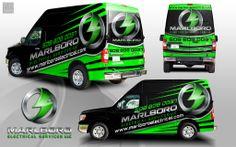wrap design for marlboro