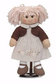 Resultado de imagen de ropa para muñecas de trapo patrones