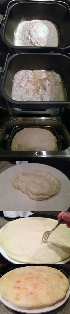 Easiest Bread Machine Pizza Dough