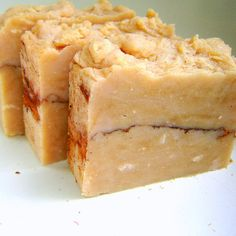 Fall Apple Sauce -old fashioned sweet apple cinnamon hot process soap super sudsy.