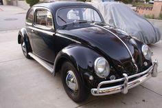 Dream car- 1957 VW Beetle Sedan, all original. GORGEOUS!