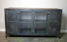 industrial metal cupboards - Google Search