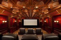 ¡Un cine con todas mis películas favoritas¡ Yo puedo verlas una y otra vez.