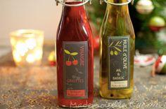 Huile et vinaigre parfumés maison (Cadeaux gourmands) - Recette de Cuisine ~ Mademoiselle Cuisine : recettes, astuces, actu cuisine