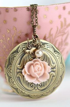 Large Locket Necklace