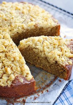 Coffee Crunch Cake by Citrus and Candy, via Flickr