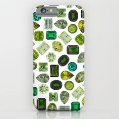 Green Gems iPhone & iPod Case
