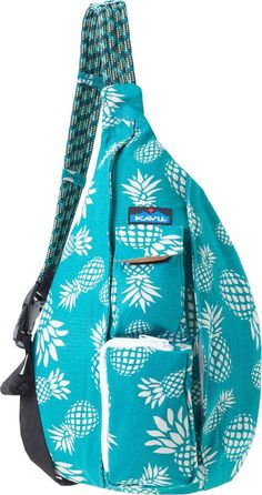 Even if you're on your way to work, the Kavu Rope Bag makes sure you never feel far from the crag thanks to its shoulder strap made of rope. Roomy storage and organization round out the bag. Available at REI, Satisfaction Guaranteed. Single Strap Backpack, Sling Backpack, Kayak Storage, Bags Online Shopping, Cute Backpacks, Cute Bags, Purses And Bags, Crossbody Bag, Caribbean Cruise