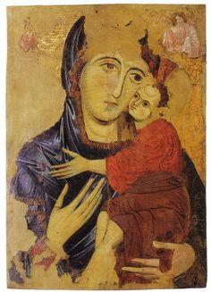 Enrico di Tedice - Madonna San Michele In Borgo - Museo San Matteo Pisa