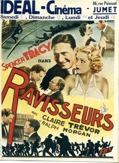 The Mad Game - Ravisseurs - Vintage movie poster