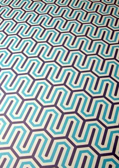 Blue/Navy, recycled wrapping paper by http://www.nineteenseventythree.com