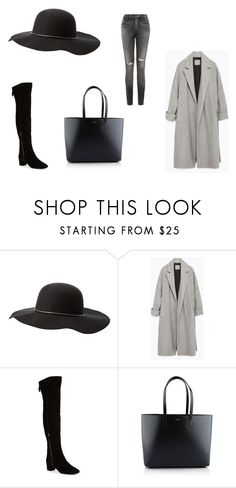 """""""All i want it's nothing more to hear knocking at my door"""" by kristina-hudakova on Polyvore featuring Charlotte Russe, Zara, Nine West, Yves Saint Laurent and Citizens of Humanity"""