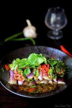 Chinese Eggplant Salad Recipe  @elaineseafish